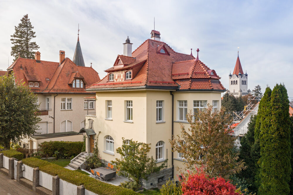 Haus Indra, Rorschach, SG IV-Fenster, IV-EV Aufdoppelungen, Sanierung