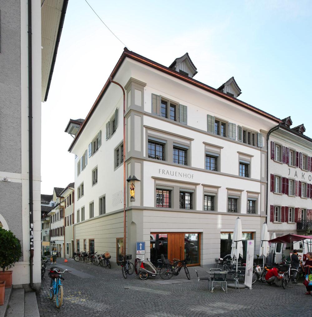 Frauenhof, Rapperswil-Jona, SG IV-Fenster