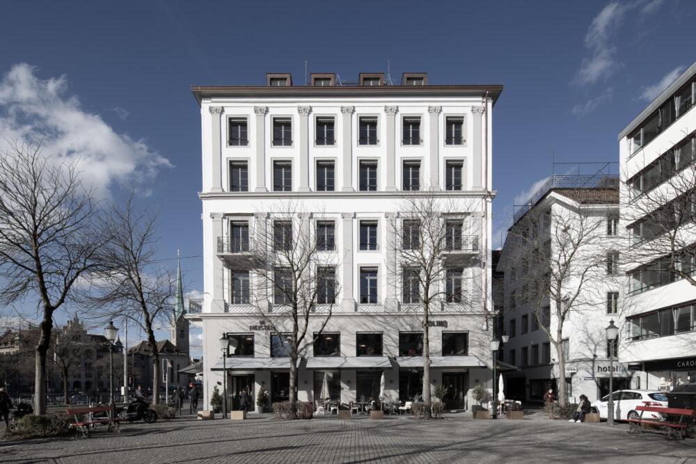 Wohn- und Geschäftshaus MINERVA, Zürich, ZH Sanierung, IV-Fenster