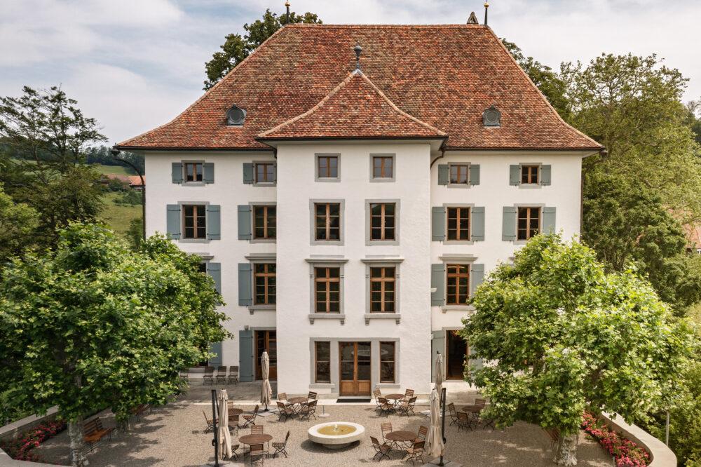 Schloss Schlossrued, Schlossrued, AG IV-Fenster, Aufdoppelungen, Sanierungen