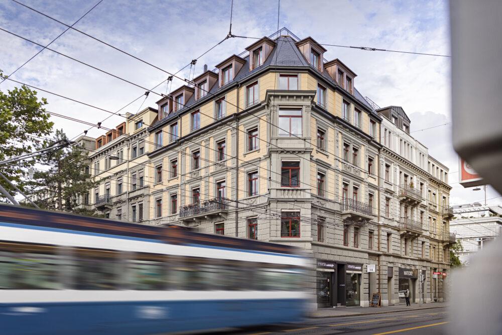 Usteri, Zürich, ZH IV-Fenster, Sanierung