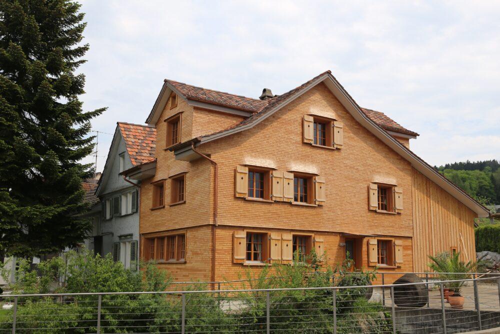 Wohnhaus, Waldkirch, SG Sanierung