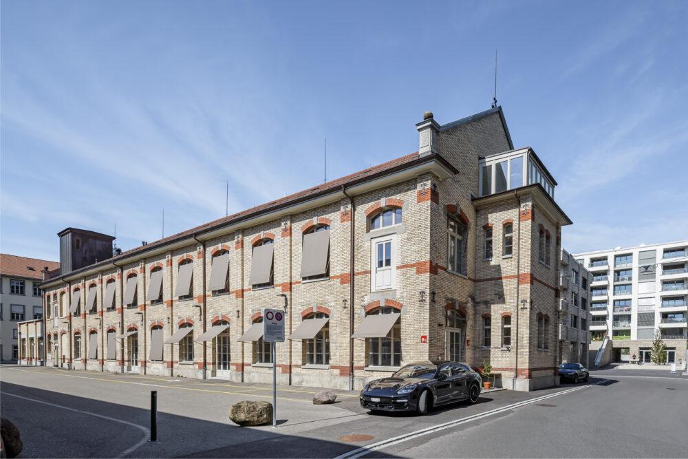Wohn- und Gewerbehaus ZWICKY, Wallisellen, ZH IV-Fenster, Sanierung