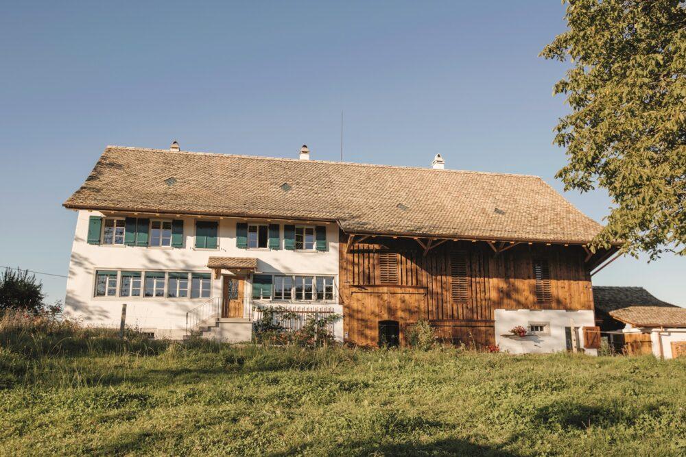 Bauernhaus Chilenrain, Oetwil am See, ZH Historische Fenster