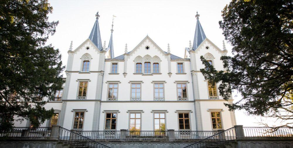 Chateau de l'Aile, Vevey, VD Historische Fenster